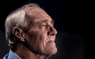 Opa Ralph Erskine bidt voor zijn kleinkinderen